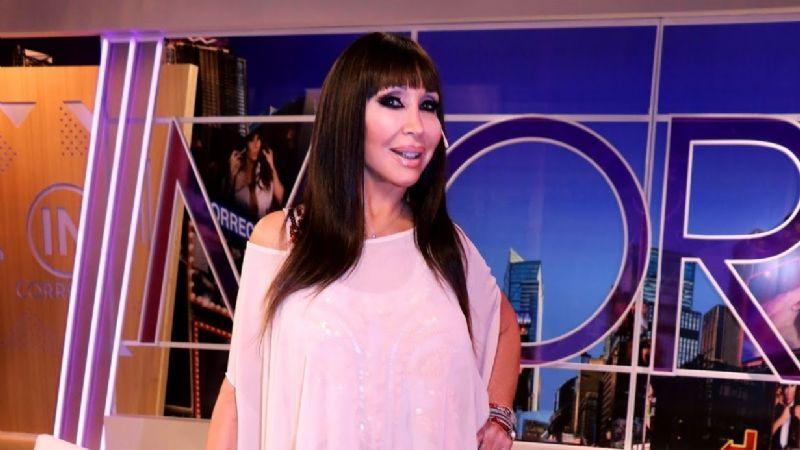 """Moria Casán eligió el vestido que usará en el """"Cantando 2020"""": """"Es el que más va conmigo"""""""
