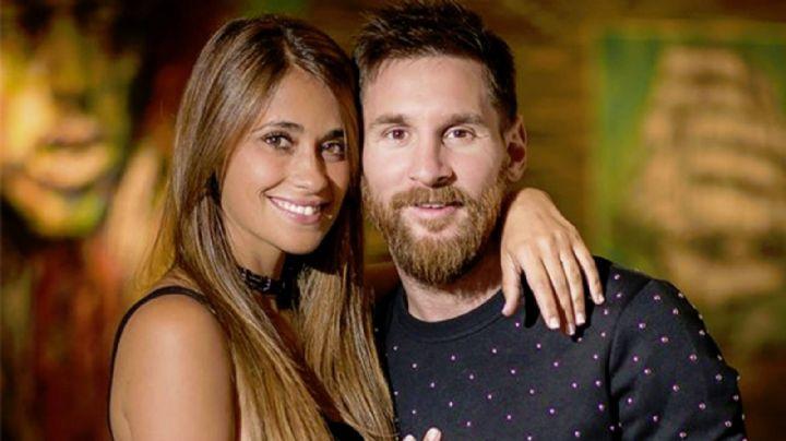 Antonela Roccuzzo disfruta de Ibiza junto a Lio Messi, sus hijos y amigos