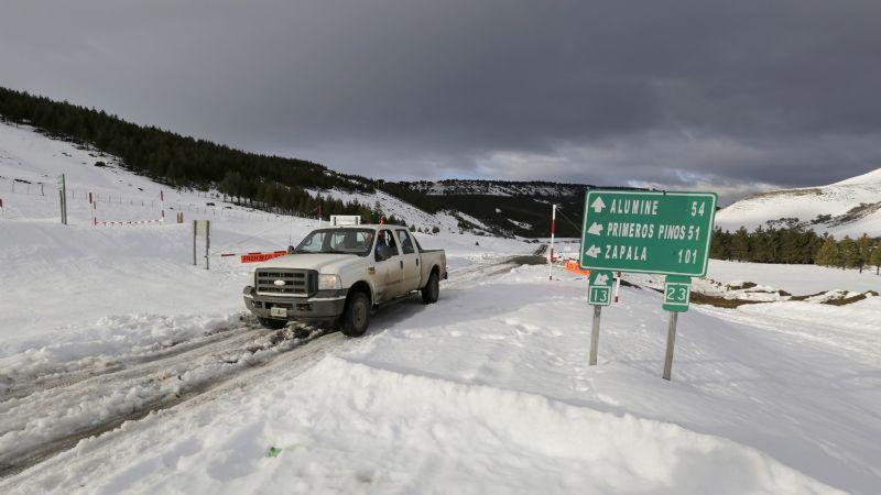 Temporal de nieve: así está el estado de las rutas en Neuquén