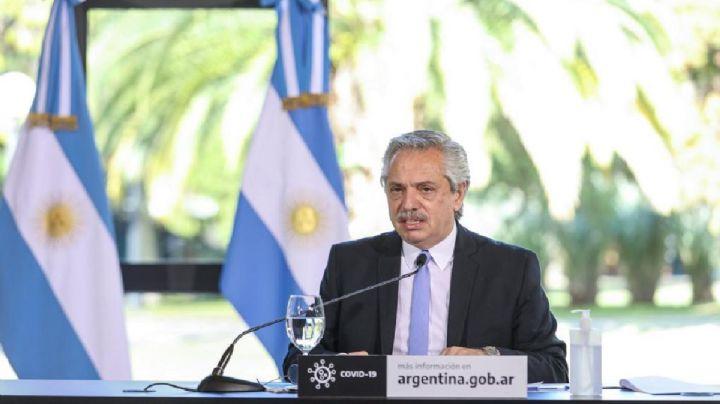 """Alberto Fernández pidió """"olvidarnos de las fronteras y límites políticos"""""""