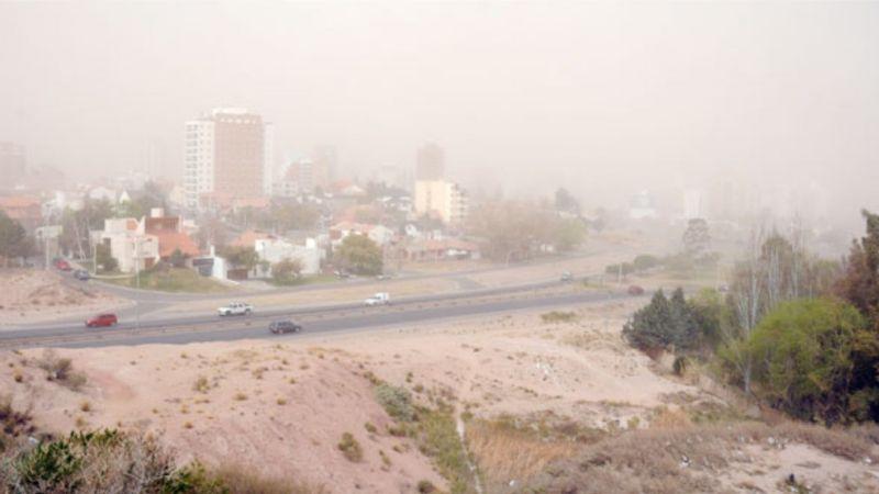 Temperaturas cálidas y mucho viento: el clima esta semana en Neuquén