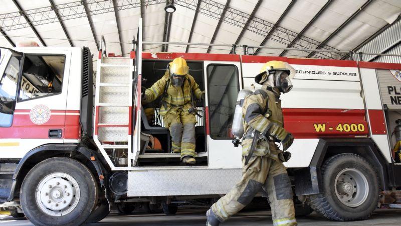 Comarca petrolera: cierran el cuartel de bomberos por un trabajador contagiado
