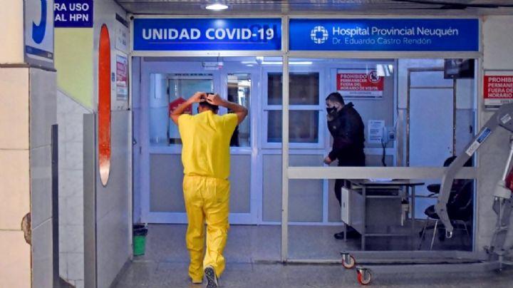 Coronavirus en Neuquén: crecen los casos activos y la ocupación de camas