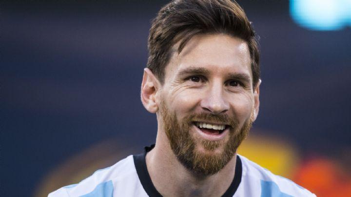 No es Antonella Roccuzzo: Leo Messi le declara su amor a esta mujer en público
