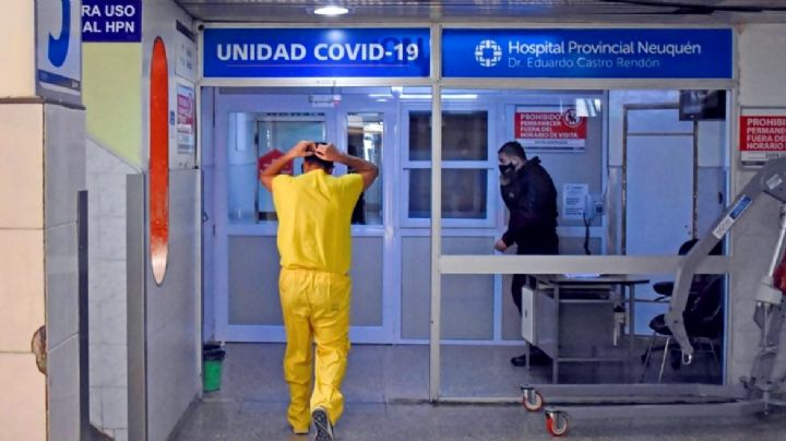 Alerta coronavirus: Neuquén tiene el 94% de las camas de UTI ocupadas