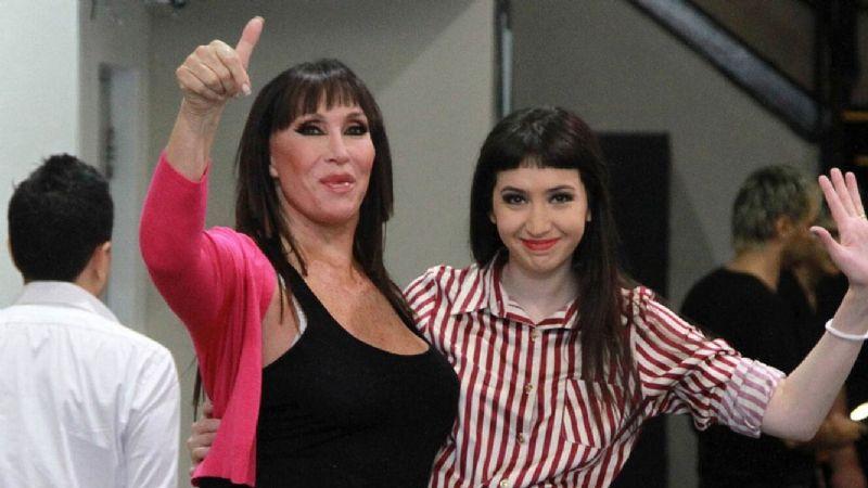 El mejor regalo para una artista: Sofía Gala le dio una hermosa noticia a Moria Casán